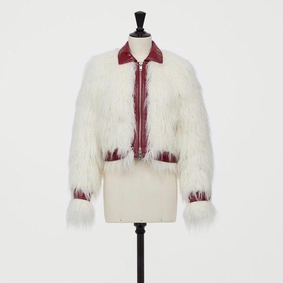 Giambattista Valli Jackets & Blazers - Giambattista Valli faux fur